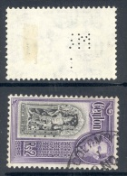 CEYLON, Perfin ´M R I ´ - Ceylon (...-1947)