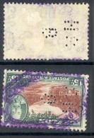 CEYLON, Perfin ´H R B ´ - Ceylon (...-1947)