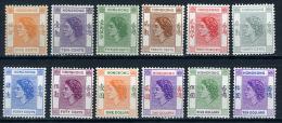 1954 -  HONG KONG - Catg. Mi.  178/191 - NH - (D11032016......) - Hong Kong (...-1997)