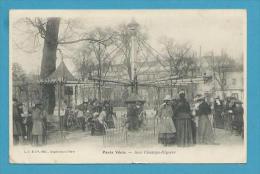 CPA Animée PARIS VECU - Aux Champs Elysées - Manège Les Chevaux De Bois - Champs-Elysées
