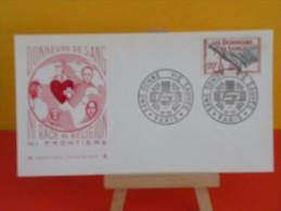 FDC> 1950-1959 - Sang Donné , Vie Sauvée - Paris - 17.10.1959 - 1er Jour, Coté 3 € - FDC