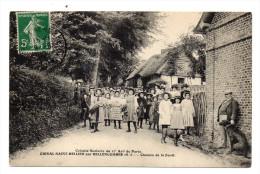 76 Orival Saint Hellier. Chemin De La Forêt. Colonie Scolaire Du 17 Eme Arrondissement De Paris - Other Municipalities