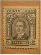 25 Centimos Instruccion Sanz Timbre Fiscal Poliza Tasa Tax Due Revenue Cinderella Official Venezuela - Venezuela