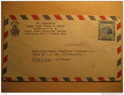 Campo Alegre Chacao Edo Miranda 1954 Air Mail Via Aerea Par Avion Cancel Cover Stamp Venezuela - Venezuela