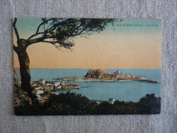 CPA Ile Rousse Les Ilots écrite 1936 Annoncant La Venue Du Député Landry élections Ajaccio. Voir Photos. - Otros Municipios