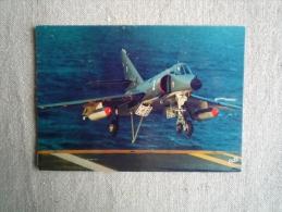 CPM Super étendard à L´appontage Porte- Avions Foch Erté. Voir Photos. - Manoeuvres