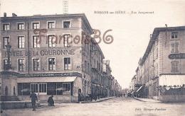 (26) Romans Sur Isère - Rue Jacquemart - Hotel De La Couronne - 2 SCANS - Romans Sur Isere