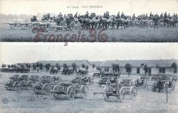(51) Camp De Chalons Sur Marne - L'Artillerie - 1916 - Soldats Militaires Militaria - 2 SCANS - Camp De Châlons - Mourmelon