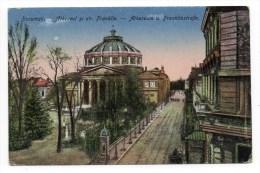 BUCURESTI (ROUMANIE) - ATHENEUL SI STR. FRANKLIN - ATHENEUM U. FRANKLINSTRASSE - Romania