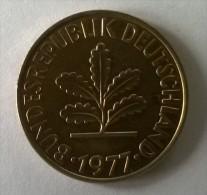 10 Pfennig 1977 F - - 10 Pfennig