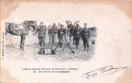 (51) Camp De Chalons Sur Marne - Les Tapins De La Compagnie - Cavalerie Soldats Militaires Militaria - 2 SCANS - Camp De Châlons - Mourmelon