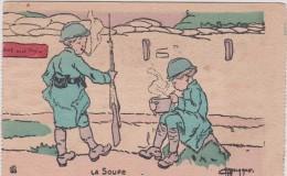 Illustrateur :  La  Soupe  ,  Soldat - Illustrateurs & Photographes