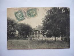 80 - SAINT- QUENTIN-LA-MOTTE- CROIX-AU-BAILLY - Le Chateau  De L...... - Autres Communes