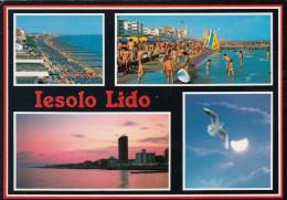 Jesolo Lido  - Cartolina X Zola Predosa (BO) Il 10.8.1991 - Altre Città