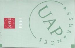 Calendrier De Poche/Assurances/UAP/Cabinet Moreau / Evreux/1995        CAL262 - Petit Format : 1991-00