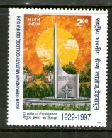 INDE 1997 COLLEGE MILITAIRE  YVERT N°1318  NEUF NG - Inde