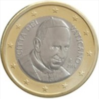 Vatikaanstad 2016    1 Euro     UNC Uit De BU    UNC Du Coffret  !!  Leverbaar - Livrable !!! - Vatican