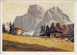 MONTE PELMO Dolomiten - V. Arnold Graboné, Gel. 1941 - Italy