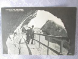 DURCHBLICK VOM TOMLISHORN TUNNEL AUF KULM U ESEL - Switzerland