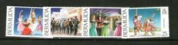 BERMUDA-BERMUDES 1994 CULTURE  YVERT N°676/79  NEUF NG - Dance