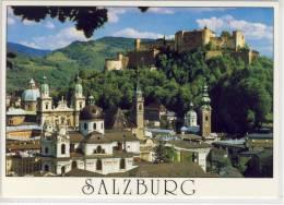 SALZBURG - Blick Auf Altstadt Vom Mönchsberg - Salzburg Stadt