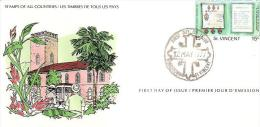58235) FDC Di S. Vinent- Un Valore Da 15c. The Bishopric Of The Diocese Of The Windward Island -  12/5/1977 - Bermudes