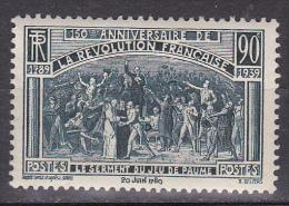 N° 444 Sesquicentenaire De La Révolution Française: Serment Du Jeux De Paume: Timbre Neuf Sans Charnière Gomme D´origine - Unused Stamps