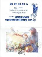 Calendrier De Poche/Etablissements Marteau/Plomberie/Ivry La Bataille, Eure/1994        CAL269 - Calendars