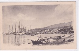 Saint-Pierre-la-Martinique - La Plage - Martinique