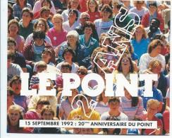 Calendrier De Poche/Journal / Le POINT//Paris/1992      CAL283 - Calendars