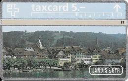 PTT: K-94/1B 402L Landis & Gyr, Seeansicht Zug - Schweiz