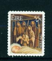 IRELAND  -  2007  Christmas  55c  Self Adhesive  Used As Scan - Usados