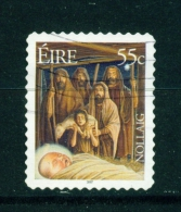 IRELAND  -  2007  Christmas  55c  Self Adhesive  Used As Scan - 1949-... Repubblica D'Irlanda