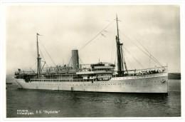 """Antwerpen - Anvers. Boot - Bateau S.S. """"Thysville"""". - Antwerpen"""