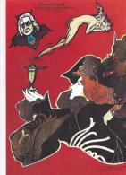 CPM (25) PONTARLIER Absinthe Fée Verte TALLEYRAND Style Art Nouveau Caricature Tirage Limité LARDIE / JIHEL - Lardie