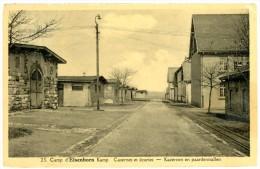 Butgenbach - Buetgenbach. Camp D´Elsenborn. Casernes Et écuries. Kamp. Kazernes En Paardenstallen. Envoyée En 1936. - Butgenbach - Buetgenbach