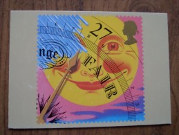 51063 POSTCARDS: STAMPS (PICTURES):  Weather (Fair). - Stamps (pictures)