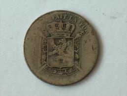 BELGIQUE 1 FRANC 1866 ARGENT SILVER - 07. 1 Franc