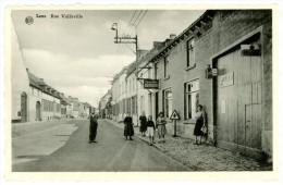 Lens. Rue Vallaville. Vallavillestraat. Publicité - Reklame: Cigarettes - Sigaretten Armada, Alba, Butagaz. - Lens