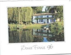 Calendrier De Poche/Transports/ Les Cars Caulier/DREUX//1996      CAL281 - Petit Format : 1991-00