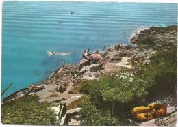 O2147 San Felice Circeo (Latina) - Quarto Caldo - La Scogliera / Viaggiata 1965 - Altre Città