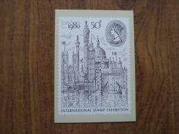 51072 POSTCARDS: STAMPS (PICTURES):  50p London 1980. International Stamp Exhibition. - Stamps (pictures)