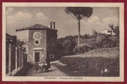 ASCOLI PICENO VENAROTTA CHIESETTA DEL CARDINALE SPEDITA AL PITTORE PAJETTA VERONA 1943 - Ascoli Piceno