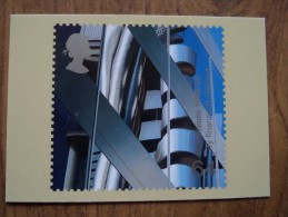 51074 POSTCARDS: STAMPS (PICTURES):  64p Millennium 1999/29. City Finance / B Neiland. - Stamps (pictures)