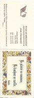 Calendrier De Poche/Ecole De Rééducation Professionnelle/ Jean L´Herminier/Château Des Roches /OISSEL/1996      CAL297 - Calendars