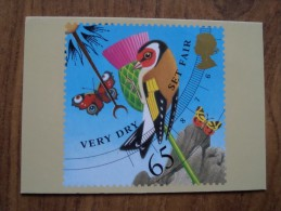 51076 POSTCARDS: STAMPS (PICTURES):  65p Weather (Very Dry/Set Fair). - Stamps (pictures)
