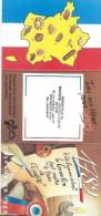 Calendrier De Poche/Les Artisans Boulangers/Evreux /Eure//1989      CAL292 - Calendars