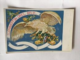 AK SLOWAKEI SLOVAKIA SLET V BRNE 1922. F.HOPLICEK SLOVANTVA OREL BILY ANSICHTSKARTE - Slowakei