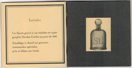Cartes Parfumées  Carte SERGE LUTENS MINI LIVRET 16 PAGES  10 Cm X 10 Cm - Perfume Cards