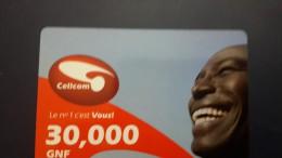 Liberia-cellcom Card-30.000gnf-SAMPLE-card+2card Prepiad Free - Liberia